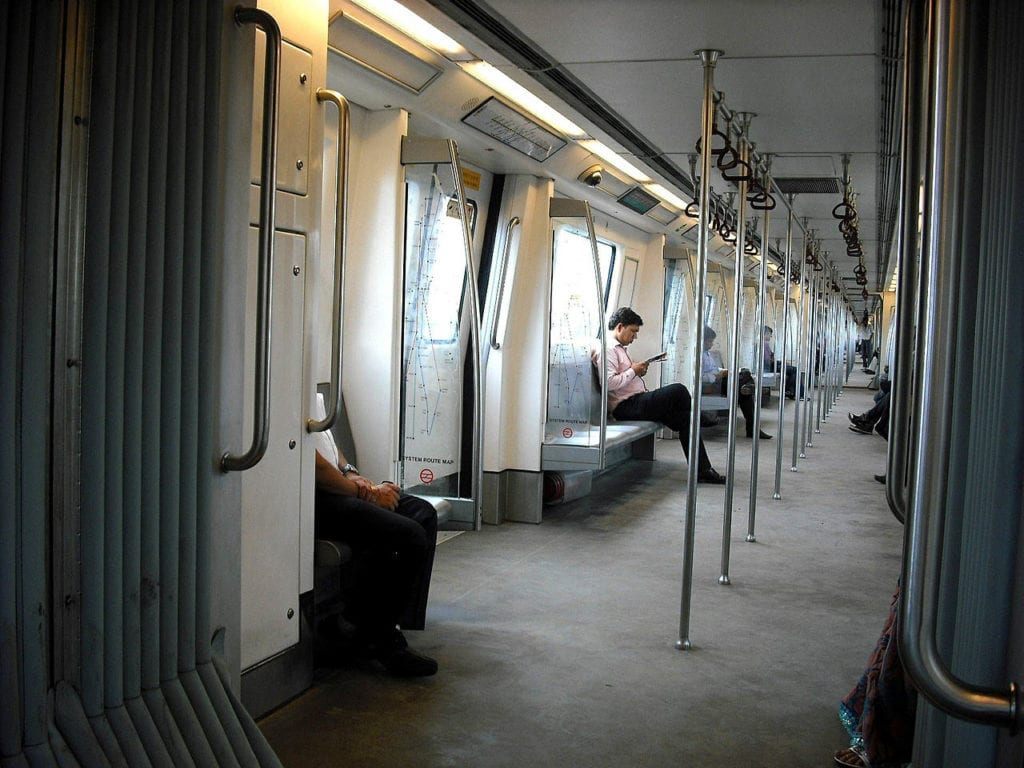 New Delhi Metro system