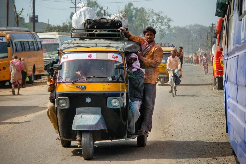 Moto Rickshaw in India