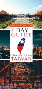 Taiwan Itinerary 7 days