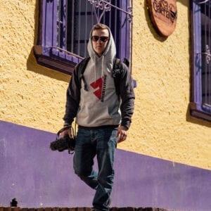 Divert Living Hooded Sweatshirt - Two-Tone