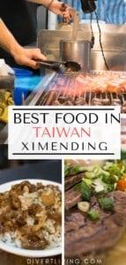 Ximending Food